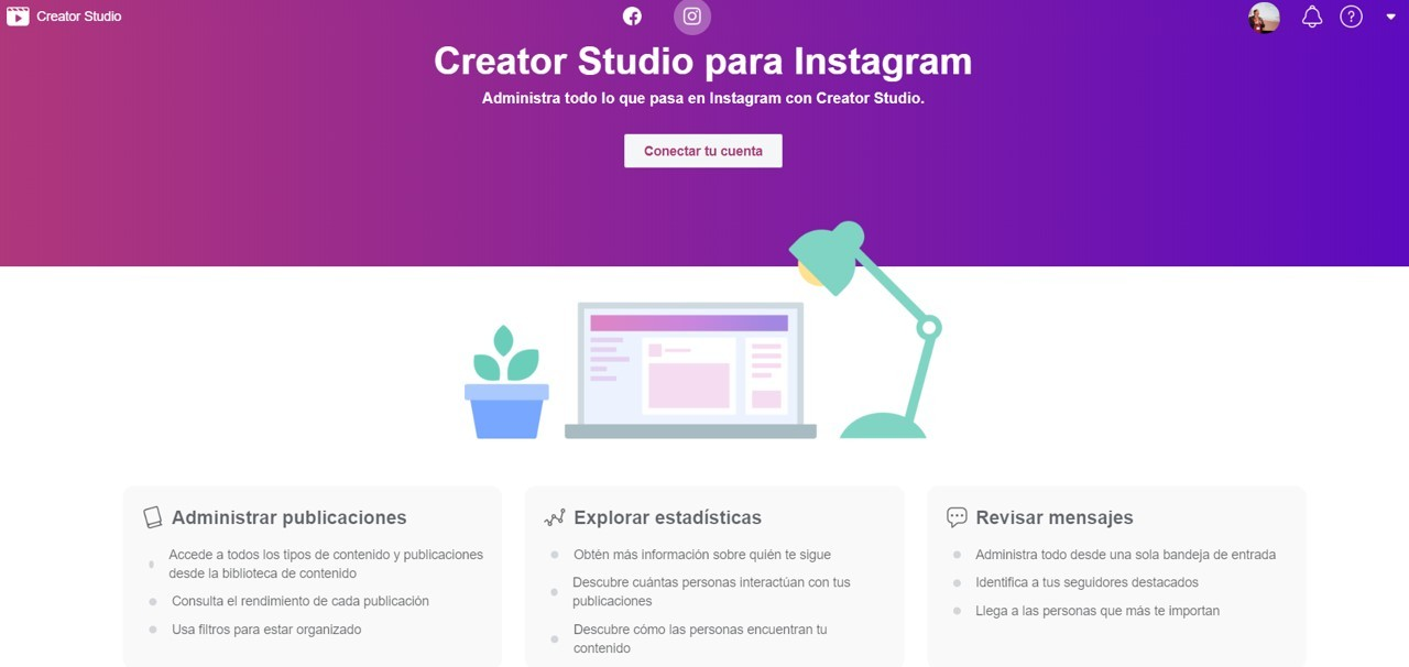 creator studio facebook instagram