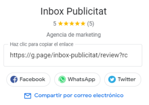 Reseñas Google My Business